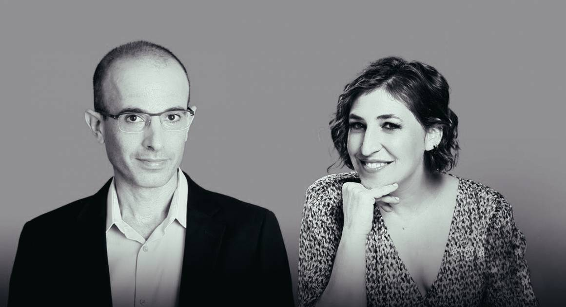 «Нам нужен антивирус для мозга»: Юваль Ной Харари и Маим Бялик — о том, как людям обезопасить себя от технологий